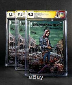 The Walking Dead 192 Skybound Sdcc Exclusif Ccg 9.8 Signé Kirkman Pré-commande