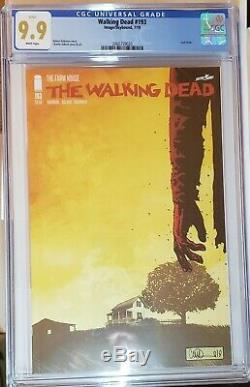 The Walking Dead # 193 Cgc 9,9 Supérieur À 9,8 Cgc Kirkman Adlard Skybound Image