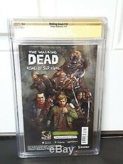 The Walking Dead # 193 Cgc Ss 9.8 Signé Par Robert Kirkman Final Numéro
