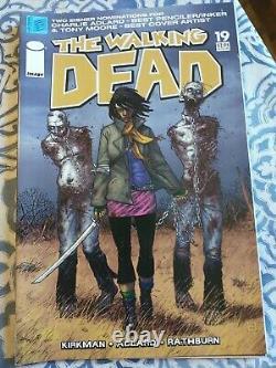 The Walking Dead 19 (1er Michonne), 18, 27 (1er Gouverneur) 53