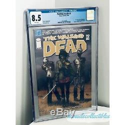 The Walking Dead # 19 Cgc 8.5 Pages Blanches Gradées 1ère Apparition De Michonne