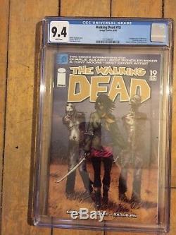 The Walking Dead # 19 Cgc 9.4 Première Michonne