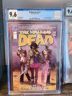 The Walking Dead # 19 Cgc 9.6 1er Apparition De Michonne 1er Impression