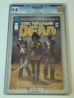 The Walking Dead #19 Cgc 9.8 1ère Michonne! Première Impression! Kirkman Moore Adlard