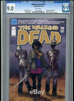 The Walking Dead # 19 Cgc Graded 9.0 (2005 Image) 1er Apparence De Michonne