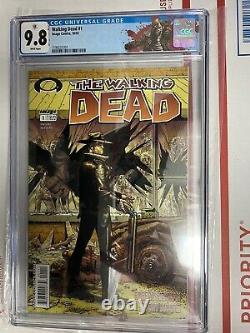 The Walking Dead #1 (2003, Image) Cgc 9.8 Rick Label! Rare Le Graal De Twd