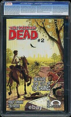 The Walking Dead #1 2003 Image Comics Cgc 9.6 Premiere Circulation D'appareillage