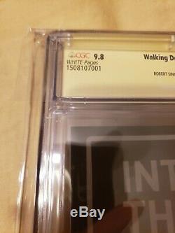 The Walking Dead # 1 5ème Anniversaire Skybound Cgc A Signé 9,8 (14 Membres De La Distribution!)