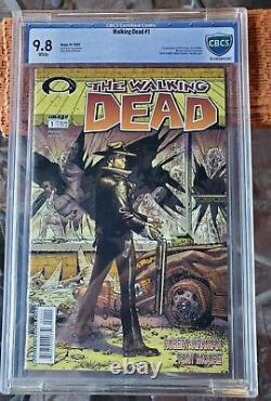 The Walking Dead # 1 9.8