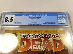 The Walking Dead # 1, Cgc 8.5