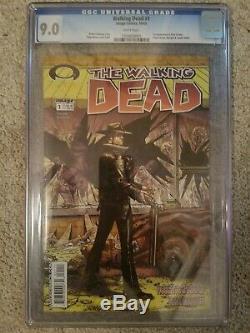 The Walking Dead # 1 Cgc 9,0