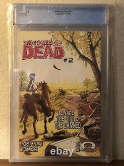 The Walking Dead #1 Cgc 9.6 (2003) Black Mature Readers Label Rare 1ère Impression