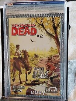 The Walking Dead #1 Cgc 9.6 Lecteurs Noirs Matures
