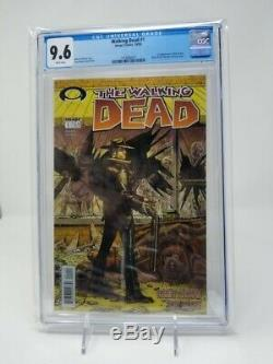 The Walking Dead # 1 Cgc 9,6 Nm + (octobre 2003, Image) Pages Blanches Amc Key! Incroyable