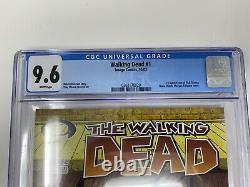 The Walking Dead #1 Cgc 9.6 Première Impression! 1ère Application. De Rick Grimes & Morgan
