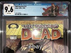 The Walking Dead # 1 Cgc 9,6 Rick Grimes Sur Mesure Twd Cgc Étiquette