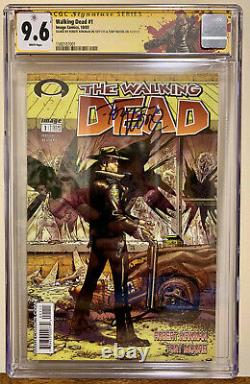 The Walking Dead 1 Cgc 9.6 Ss Robert Kirkman Et Tony Moore