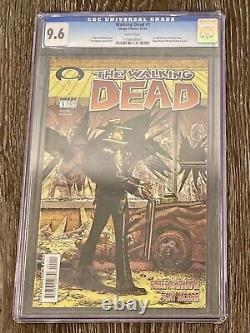 The Walking Dead # 1 Cgc 9.6 (blanc Image 2003) 1er Apparence Rock Grimes