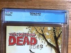 The Walking Dead # 1 Cgc 9.8. Dalle De Menthe