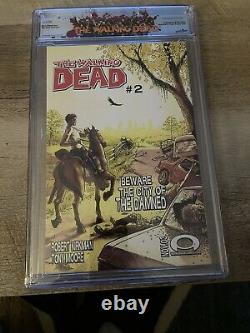 The Walking Dead #1 Cgc 9.8 (octobre 2003, Image)