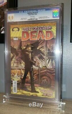 The Walking Dead 1 Cgc 9.9 1 Er Numéro Du Premier Numéro De Rick Grimes 10/03