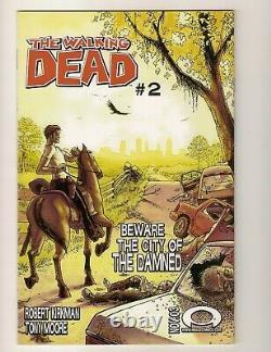 The Walking Dead 1 Image 2003 Première Impression Key 1er Rick Grimes Key Kirkman Htf