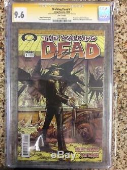 The Walking Dead # 1 Première Impression! Cgc Ss 9.6 Image Comics