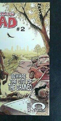 The Walking Dead # 1 (image 2003) 1ère Édition Nm 9.6 9.8 It Cgc! 1er Rick Grimes