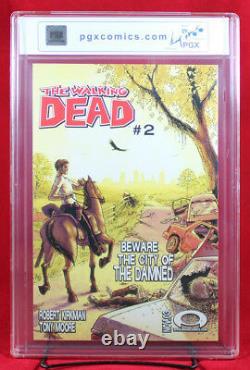 The Walking Dead # 1 (image) Pgx 9.8 Nm/mt Near Mint 1er Rick Grimes Amc +cgc