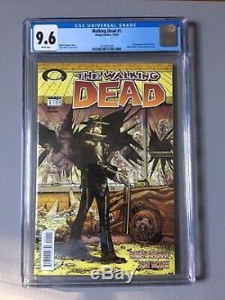 The Walking Dead # 1 (oct 2003) Cgc 9.6 1ère Édition Rare Black Layer Lecteurs De Label