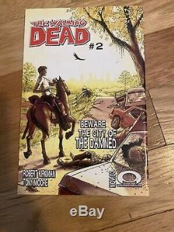 The Walking Dead # 1 (octobre 2003, Image) 1er Imprimer Tres Belle Sharp Comic