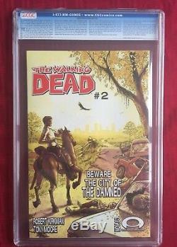 The Walking Dead # 1 (octobre 2003, Image) Ccg 9.6 Première Comparution De Rick Grimes