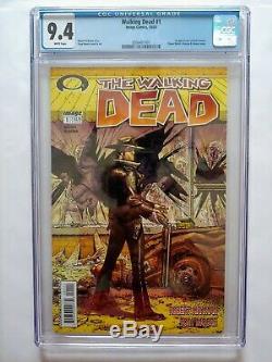 The Walking Dead # 1 (octobre 2003, Image) Cgc 9.4 Première Impression