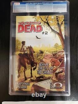 The Walking Dead #1 (octobre 2003, Image) Cgc 9,8