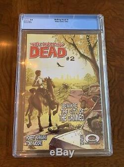 The Walking Dead # 1 (octobre 2003, Image) Noté 9,4