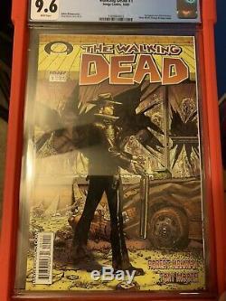 The Walking Dead # 1 (octobre 2003, Image) Première Impression / Rick Grimes Cgc 9.6 Non Pressée