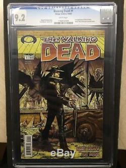 The Walking Dead # 1 (première Impression) Cgc 9.2 Lecteurs Adultes Blancs Image Comics Twd