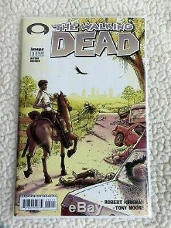 The Walking Dead # 2 1er Imprimer 2003- 1er App De Glenn, Lori Et Carl