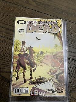 The Walking Dead # 2 1er Imprimer Clé 2003 Lori Carl Rick -cgc Ready