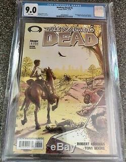 The Walking Dead # 2 (novembre 2003, Image) Cgc 9.0 1er Imprimer Kirkman