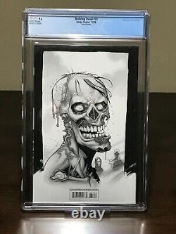 The Walking Dead #33 Cgc 9.6 2nd Print Blue Variant Coverure