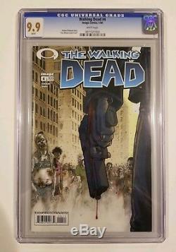 The Walking Dead 4 Cgc 9.9 Note La Plus Élevée Seulement 2 Sur Recensement Rare (pas 9,8)