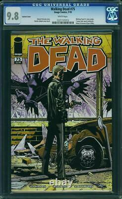 The Walking Dead 75 Cover B Cgc 9.8 Rare Graded 1 In 50 Retailer Variant