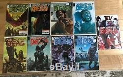The Walking Dead 9 Comic Lot # 21, 22, 23, 24, 25, 26, 28, 29, 30 Vf / Nm