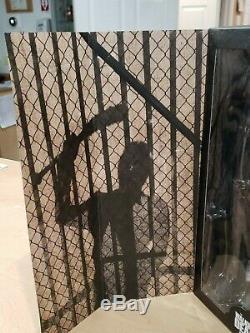 The Walking Dead Amc Negan 1/6 Échelle De Collection Figure New Damage Lumière