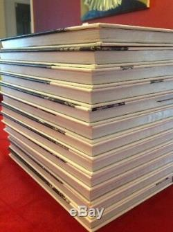 The Walking Dead Books N ° 1-12 Relié, Romans Graphiques Noir Et Blanc, Kirkman