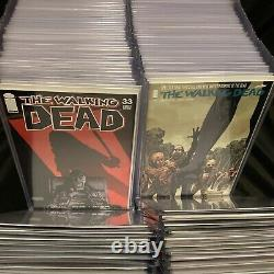 The Walking Dead Comic Book Collection 131 Issues 1st Prints Sac & Board