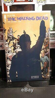 The Walking Dead Comic Lot # 191 # 192 # 193 Set D'adieu