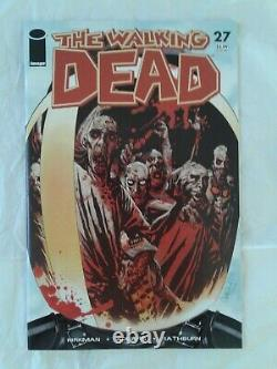 The Walking Dead Comic Lot #19 #27 Image Oop 1st Michonne Fn 1st Governor Vf