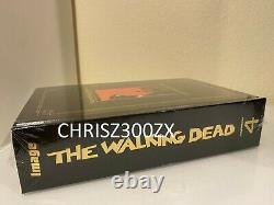 The Walking Dead Compendium 4 Gold Foil Hardcover Book Comic Figure 145 -193 Twd